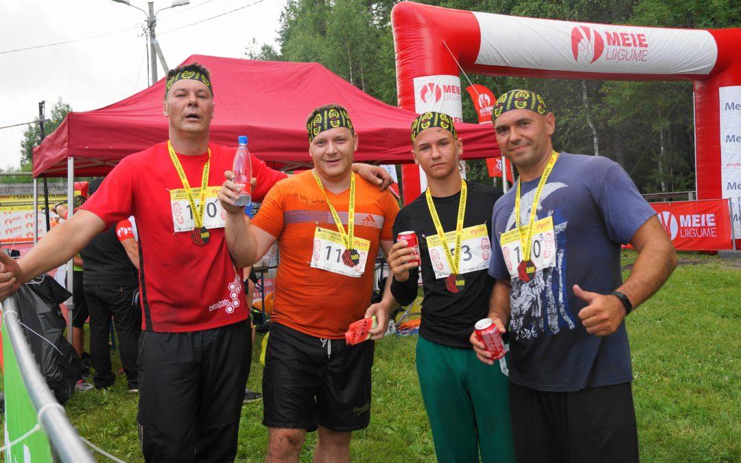 Vigor Sport Club принимал участие в Saku Ekstreemjooks. 05.08.2017г.