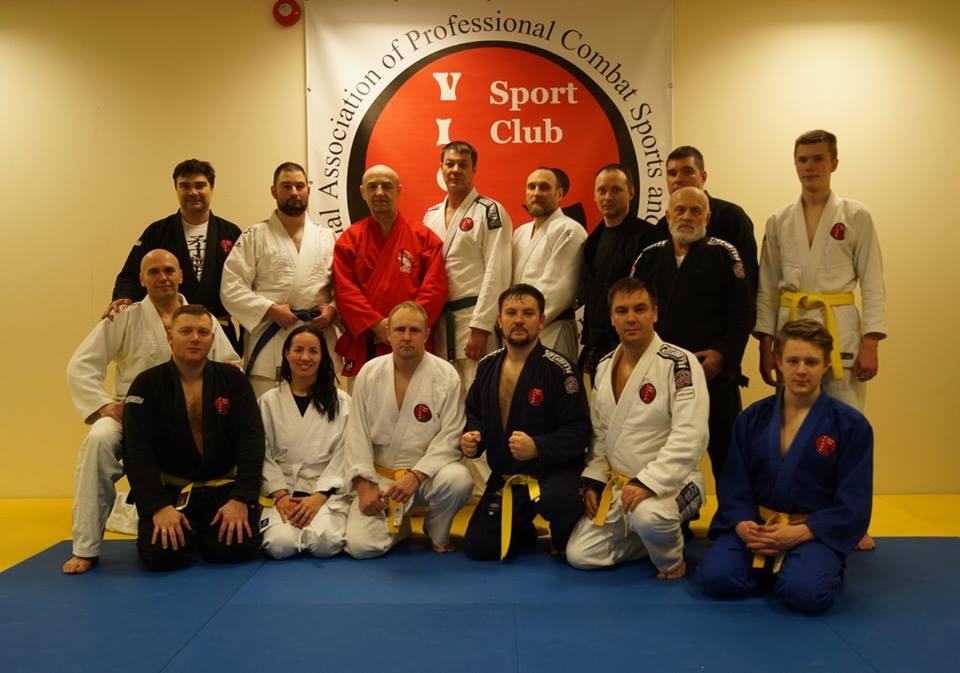Второй традиционный Международный семинар спортивных единоборств и боевых искусств. International Association of Professional Combat Sports and Martial Arts. Tallinn 18-20.01.2018