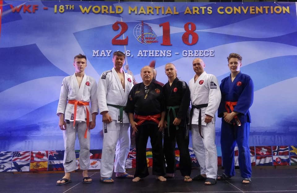 World Kobudo Federation. Convention 2018. Greece. Athens. May 4-6