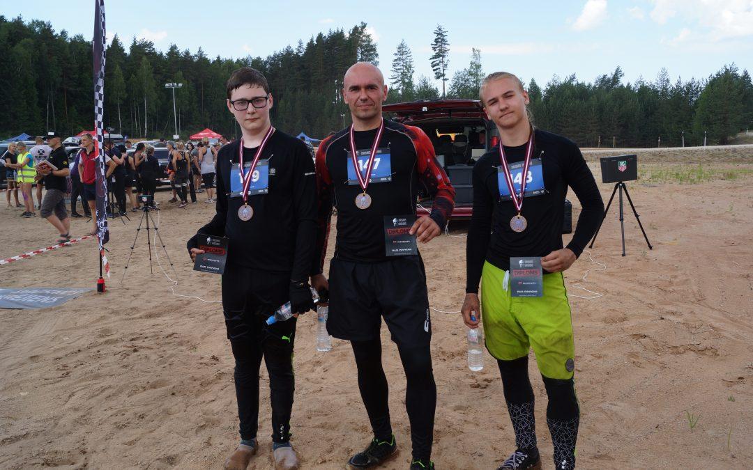 Vigor Sport Club участвовал в «Drosmes Skrējiens», Забег Храбрых, Ikšķile, Латвия. 16.06.2018
