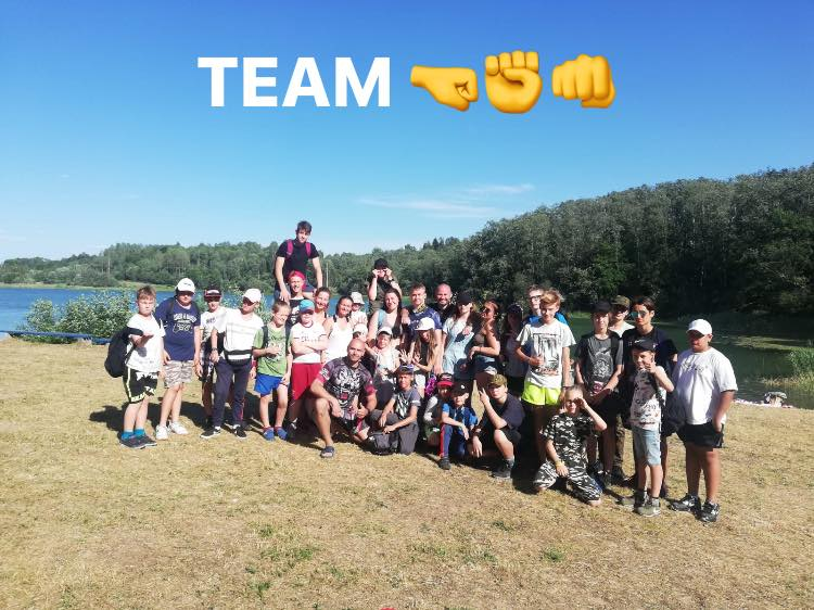 10 дней в спортивно-приключенческом лагере. Краслава, Латвия.